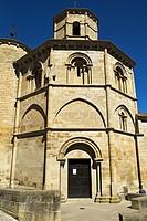Iglesia románica del Santo Sepulcro. Torres del Río. Provincia de Navarra. Spain.