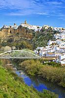Arcos de la Frontera, Pueblos Blancos (´white towns´) Route, Cadiz province, Andalusia, Spain.