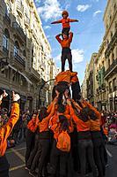 Muixeranga. València. Spain. 2017.