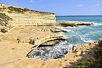 Malta, Marsaxlokk surroundings, Peter's pool.