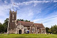 St. Mary Magdalene Church at Sandringham in Norfolk , England , Britain , Uk.