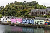 Portree, Isle of Skye, Scotland, United Kingdom.