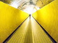 STOCKHOLM SWEDEN Brunkebergstunneln, Brunkebergs tunnel.