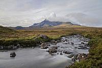 Sligachan, Cuillins, Isle of Skye, Scotland, United Kingdom.