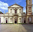 Italy, Lombardy, Milan, Santo Stefano Maggiore Basilica. . . .
