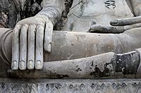Wat Yai Chai Mongkhon Temple, Ayutthaya, Thailand.
