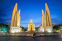 Democracy Monument, Bangkok, Thailand.