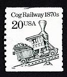 US postage stamp.