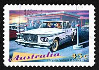 Australian postage stamp.