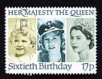 UK postage stamp.