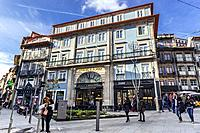 Porto AS 1829 Hotel in Porto city on Iberian Peninsula, second largest city in Portugal.