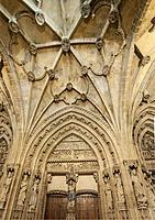 Catedral de Santa María de Vitoria (Catedral Vieja), Vitoria-Gasteiz, Basque Country, Spain
