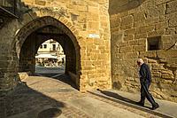 Portal de San Antonio. Rubielos de Mora. Camino del Cid. Aragón. Spain