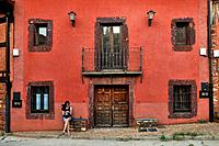 Alquité. The Red Architecture in the province of Segovia. Spain