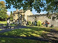 The Old Spa Building in Starbeck near Harrogate North Yorkshire England.