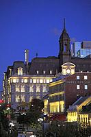 Canada, Quebec, Montreal, City Hall, Place Jacques Cartier,.