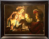 ´Musical group by candlelight´ by Gerard van Honthorst in National Museum in Copenhagen, Denmark