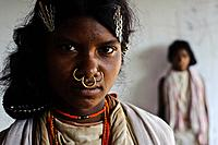 Girls from the Dongriya Kondh tribe ( Odisha state, India).
