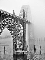 Newport Oregon Bridge. USA