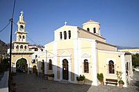 Church of the Annunciation, Paleohora village, Crete island, Greece, Europe.