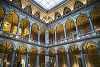 Austria, Vienna, Museum for Applied Arts, MAK, buildling interior.