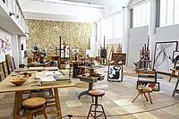 Taller Sert, Fundació Pilar i Joan Miró, Palma, Mallorca, Balearic islands, Spain.