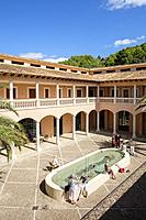 CCA, Andratx Centro de Arte, Andratx, Sur de la Sierra de Tramuntana, Mallorca, Balearic islands, Spain.