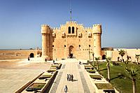 Fort of Qaitbay, Built in the 15th century AD, Alexandria, Egypt