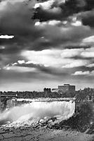 Niagara Falls in winter. American Falls.