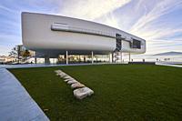 Botin Center Museum Art and Culture. Botin Foundation, architect Renzo Piano. Santander, Cantabrian Sea, Cantabria, Spain, Europe.
