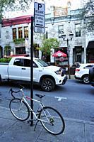 Saint Denis Street, Montreal, Quebec, Canada.