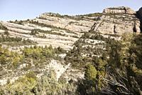 Galera Peak. Los Ports mountains Natural Park. Beceite, Aragon, Spain