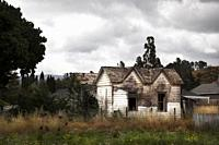 Old house. Real way. California, USA