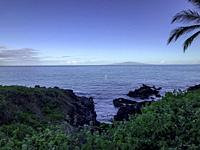 Wailea Coastal Walk along Maui´s famed, sun-kissed south shore resort area. Hawaii