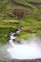 Termal water in Iceland