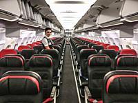 ISTANBUL, TURKEY Ataturk Airport. Transit. Turkish Airline flight.