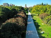 Jardines del Turia, Valencia, Spain
