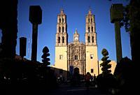 The Parroquia de Nuestra Se–ora de los Dolores in Dolores Hidalgo, Mexico. Dolores Hidalgo was the Cradle of National Independence.