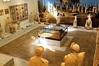 Interior of Tripoli Museum, Libya.
