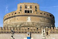 Castel Sant'Angelo Rome Italy.