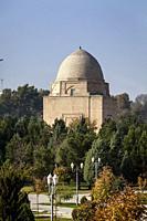 Rukhobod Mausoleum, Samarkand, Uzbekistan.