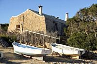 Poblado de pescadores de s'Estelella, llucmajor, Mallorca, balearic islands, Spain.