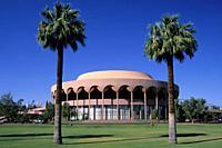 Grady Gammage Memorial Auditorium (Frank Lloyd Wright), Arizona State University, Tempe, Arizona.