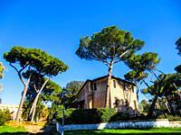 Parco del Colle Oppio, Esquiline Hill, Rome, Lazio, Italy.