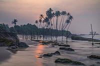 Koggala Beach, Galle, Sri Lanka, Asia.