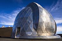 Caltech Submillimeter Observatory on the summit on Mauna Kea, The Big Island, Hawaii USA.