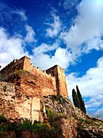 Remains of the Almohade and Alcazaba walls, Cáceres, Estremadura.