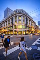 Grant Avenue around Union Square. San Francisco. California, USA