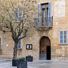 Rectoria de Llucmajor, casa señorial del siglo XVIII, Llucmajor, Mallorca, balearic islands, Spain.
