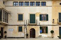 Can Prohens, Casa de Cultura Can Prohens, Felanitx, Mallorca, balearic islands, Spain.